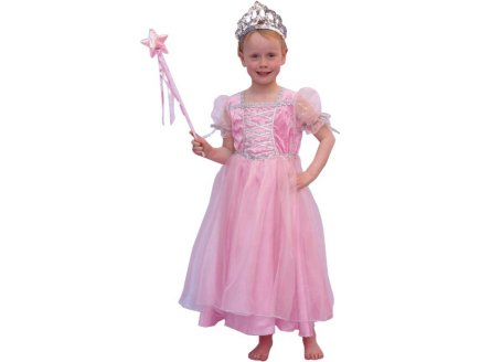 DEGUISEMENT PRINCESSE ROSE STEFFY 10 ANS FILLE