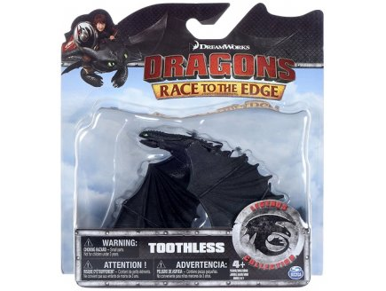 DRAGONS TOOTHLESS - DRAGONS RACE TO THE EDGE - LEGENDS COLLECTION - SPIN MASTER - 20074542