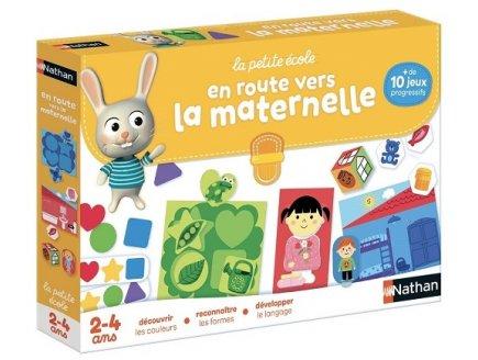 EN ROUTE VERS LA MATERNELLE 2-4 ANS - LA PETITE ECOLE - NATHAN - 31422