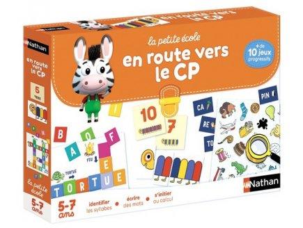 EN ROUTE VERS LE CP 5-7 ANS - LA PETITE ECOLE - NATHAN - 30052 - JEUX EDUCATIFS
