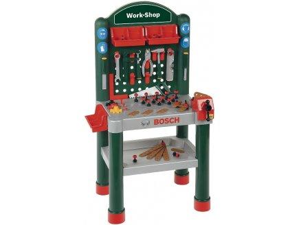 klein 8320 tabli bosch work shop avec outils pour enfant imitation bricolage. Black Bedroom Furniture Sets. Home Design Ideas