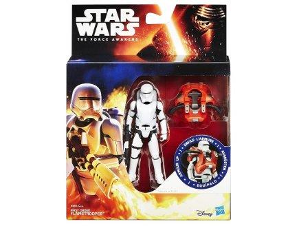 FIGURINE STAR WARS FLAMETROOPER AVEC ARMURE 10 CM - EPISODE VII - HASBRO - B3894