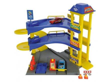 acheter jouet parking garage 3 tages voitures dickie pas cher. Black Bedroom Furniture Sets. Home Design Ideas