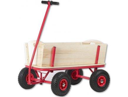 chariot remorque en bois grand chariot de plage enfant. Black Bedroom Furniture Sets. Home Design Ideas