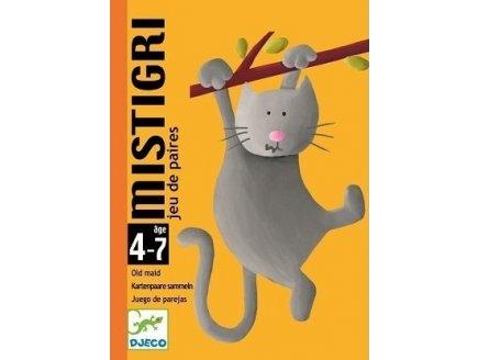JEU DE CARTES MISTIGRI - DJECO - DJ05105