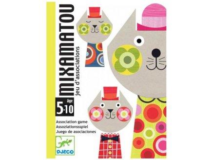 JEU DE CARTES MIXAMATOU - DJECO - DJ05130 - JEU D'ASSOCIATION