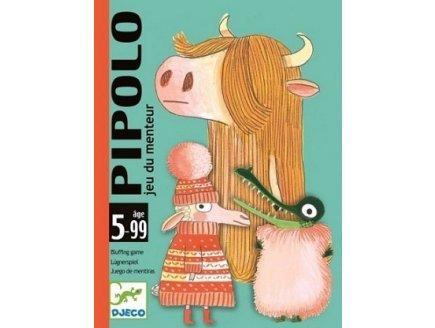 JEU DE CARTES PIPOLO - DJECO - DJ05108