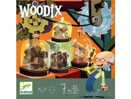 JEU DE CASSE TETE EN BOIS WOODIX - DJECO - DJ08464
