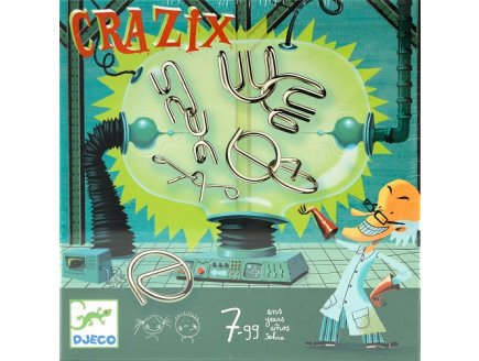 JEU DE CASSE TETE EN METAL CRAZIX - DJECO - DJ08463