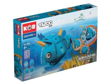 KOR GEOMAG TAZOO BETO 68 PIECES - JEU DE CONSTRUCTION - 601