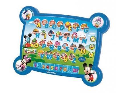 Abécédaire Mickey Tablette Tactile éducative Clementoni