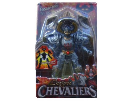 L'ORDRE DES CHEVALIERS - CHEVALIER GRIS ALDEN 13CM - FIGURINE A CONSTRUIRE ET A ASSEMBLER - 366003B