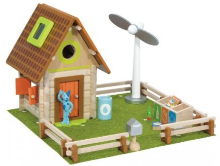 LA MAISON NATURE - HOUSE OF TOYS - 420757 - CHALET - JEU DE CONSTRUCTION EN BOIS