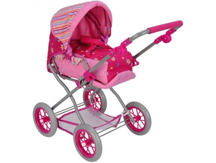 Landau combi poussette poup e landau convertible poussette jouet fille landau avec couffin poupon - Landau pour grande fille ...