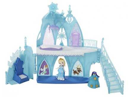 LE CHATEAU D'ELSA REINE DES NEIGES - LITTLE KINGDOM DISNEY - HASBRO - B5197