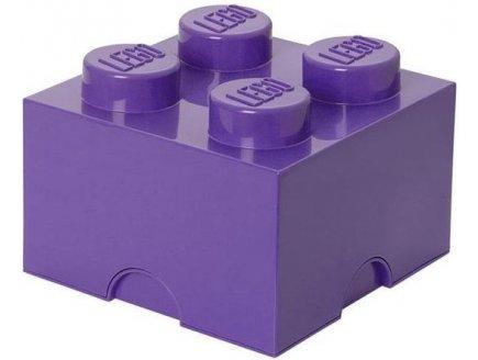 Acheter brique de rangement lego violet 4 tenons pas cher - Boite de rangement lego pas cher ...