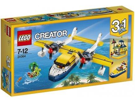 LEGO CREATOR 31064 LES AVENTURES SUR L'ILE