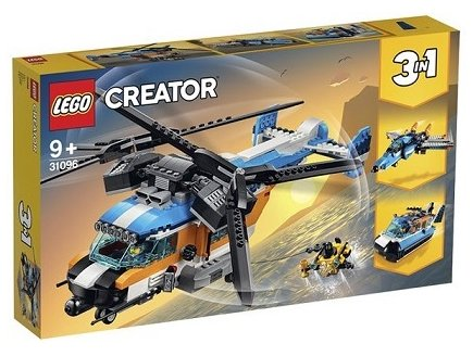 LEGO CREATOR 31096 L'HELICOPTERE A DOUBLE HELICE