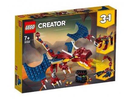LEGO CREATOR 31102 LE DRAGON DE FEU