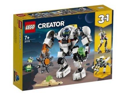 LEGO CREATOR 31115 LE ROBOT D'EXTRACTION SPATIALE