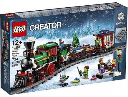 lego creator hiver 10254 le train de no l jeux jouets. Black Bedroom Furniture Sets. Home Design Ideas