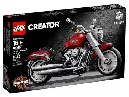 LEGO CREATOR EXPERT 10269 MOTO HARLEY-DAVIDSON FAT BOY