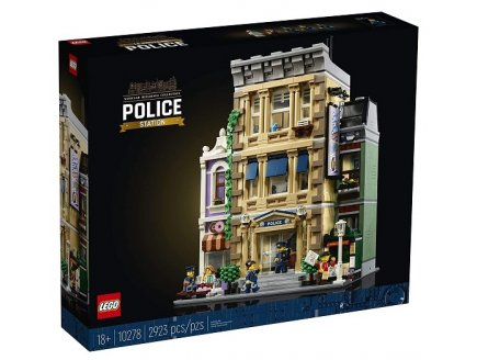 LEGO CREATOR EXPERT 10278 LE COMMISSARIAT DE POLICE