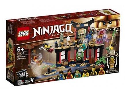 LEGO NINJAGO LEGACY 71735 LE TOURNOI DES ELEMENTS