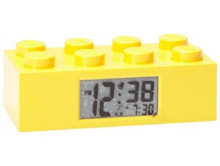 achat r veil lego pas cher brique lego r veil jaune ameublement d coration chambre lego. Black Bedroom Furniture Sets. Home Design Ideas