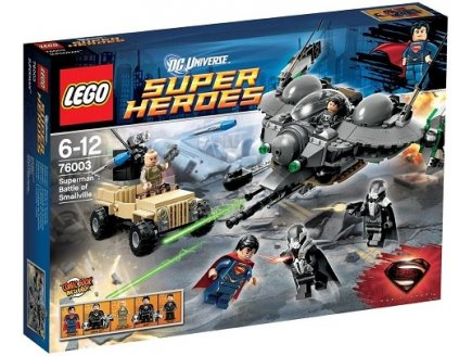 LEGO SUPER HEROES 76003 SUPERMAN : LA BATAILLE DE SMALLVILLE