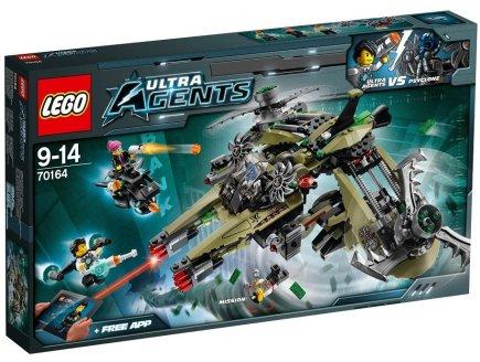 LEGO ULTRA AGENTS 70164 LE VAISSEAU DE PSYCLONE