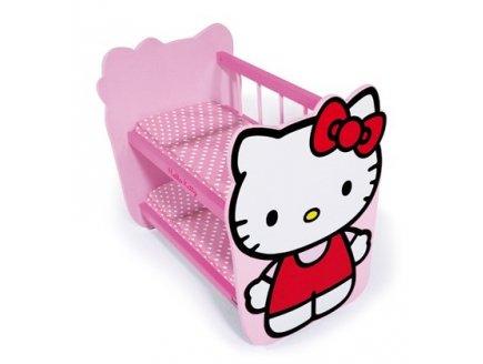 Lit superposé hello kitty poupon caverne des jouets