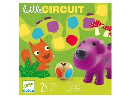 LITTLE CIRCUIT - JEU DE PARCOURS - DJECO - DJ08550