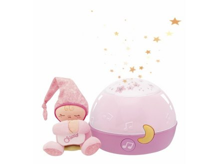 MA LAMPE MAGIC PROJECTION ROSE - CHICCO - 2427100000 - VEILLEUSE PROJECTEUR
