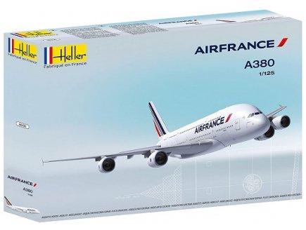 MAQUETTE AIRBUS A380 AIR FRANCE - AVION ECHELLE 1/125 - HELLER - 80436
