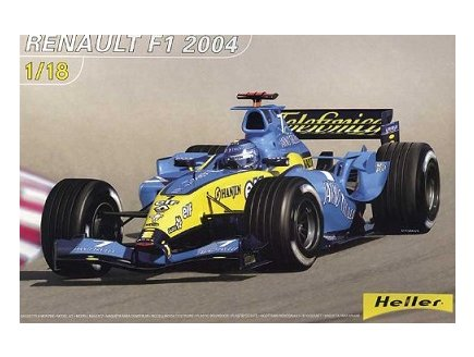 vhicule formule 1 heller jeu assemblage construction maquette maquette renault f1 2004 prix dis. Black Bedroom Furniture Sets. Home Design Ideas