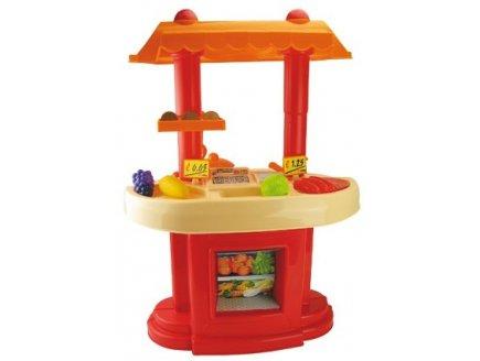 a saisir jeu de marchande et cuisine en plastique enfant avec dnette. Black Bedroom Furniture Sets. Home Design Ideas