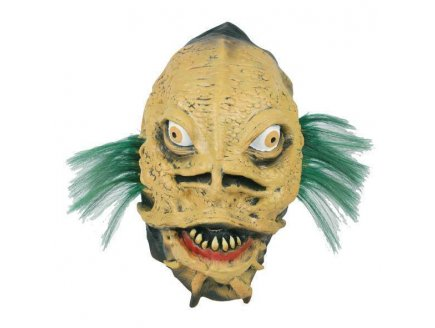 MASQUE LATEX MONSTRE MARIN ADULTE - HALLOWEEN HORREUR