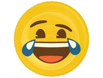 Bouée Emoji Matelas Gonflable Piscine Adulte Smiley Lol
