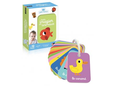 MON IMAGIER DES ANIMAUX 20 CARTES - NATHAN - 31445 - JEU EVEIL EDUCATIF