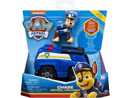 PAT PATROUILLE CHASE AVEC SON CAMION DE POLICE - FIGURINE CHIEN POLICIER - SPIN MASTER - 20114321