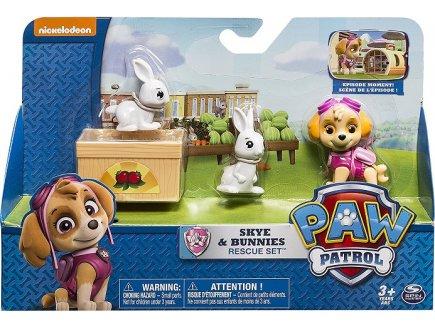 PAT PATROUILLE STELLA ET LES LAPINS - FIGURINE CHIEN - PAW PATROL - SPIN MASTER - 20074193