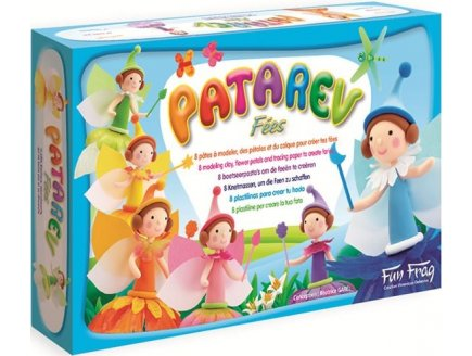 PATAREV MAXI COFFRET FEES - PATE A MODELER - SENTOSPHERE - 877 - LOISIRS CREATIFS