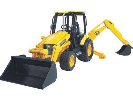 Pelleteuse jcb jouet bruder camion de chantier pour for Pelleteuse jouet exterieur