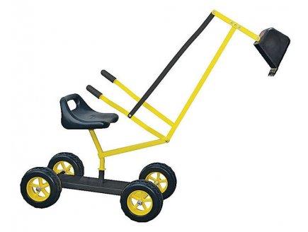 achat vente pelleteuse en m tal sur roues enfant 3 ans. Black Bedroom Furniture Sets. Home Design Ideas