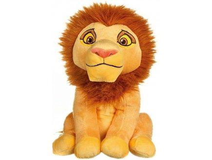 PELUCHE DISNEY LE ROI LION : LION SIMBA ADULTE 30 CM - PELUCHE LICENCE DISNEY