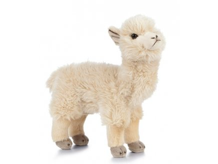 PELUCHE LAMA 20 CM - LIVING NATURE - AN469