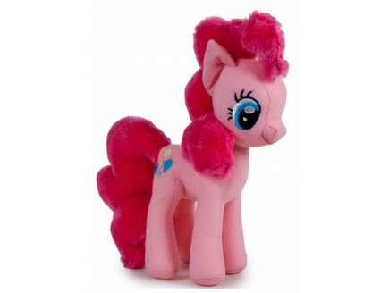 PELUCHE MON PETIT PONEY : PINKIE PIE 33 CM - FAMOSA - PELUCHE MY LITTLE PONEY