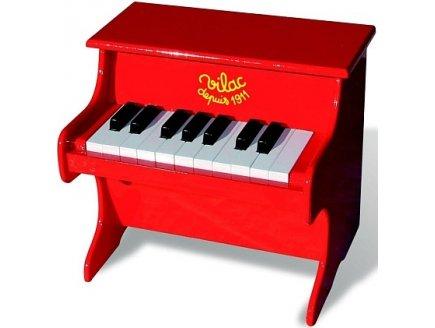 achat piano en bois 18 touches petit piano enfant vilac mon premier piano en bois. Black Bedroom Furniture Sets. Home Design Ideas