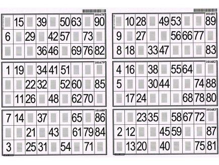 Lotoquine plaque r f rence 000003 - Grille de bingo a imprimer gratuit ...
